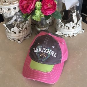 Lake girl baseball hat
